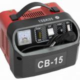Redresor baterie auto CB-15 pentru acumulatori de 12Vsau 24V, putere 15A , alimentare 220V