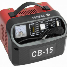 Redresor baterie auto CB-15 pentru acumulatori de 12Vsau 24V, putere 15A, alimentare 220V - Redresor Auto