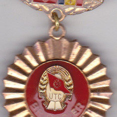 Insigna 1948-1978 UTC Brigadier 30 de ani