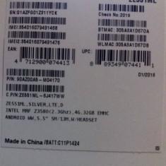 Telefon ASUS Zenfone2 - impecabil-anexez eticheta dupa cutie, Negru, 32GB, Neblocat, Quad core, 4 GB