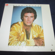 Rick Nelson - Playing To Win _ vinyl,LP,album,SUA, VINIL, capitol records