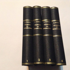 ALEXANDRE DUMAS - VICONTELE DE BRAGELONNE 4 volume,LEGATE,RF12/4