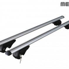 Set bare transversale portbagaj Vw Tiguan (5N) 2011->, din aluminiu, cu fixare pe barele longitudinale, Menabo - Bare Auto transversale
