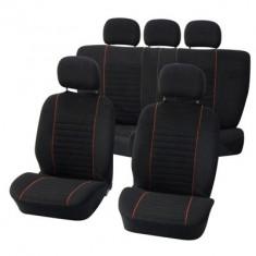 Huse scaune Dacia Logan Sedan set huse auto fata si spate Value - Husa scaun auto