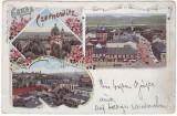 1914 - Litho, Bucovina, CERNAUTI - old postcard - used - 1898, Circulata, Printata