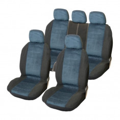 Huse scaune Dacia Logan Sedan set huse auto fata si spate Denver - Husa scaun auto
