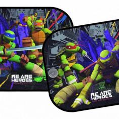 Set parasolare laterale Testoasele Ninja, Ninja Turtles 44x36 cm, set 2 buc. - Parasolar Auto