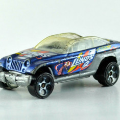Macheta / jucarie masinuta metal - Hot Wheels - Jeepster, Scara: 1/64 #333 - Macheta auto