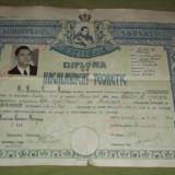 Diploma de bacalaureat teoretic 1946 - Diploma/Certificat