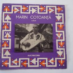 MARIN COTOANTA, COBZA, VINIL FARA ZGARIETURI . - Muzica Populara electrecord
