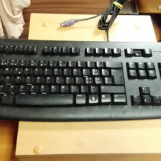Tastatura PC Logitech Y-SAN76 PS2 defecta, Standard, Cu fir