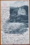 Baile Herculane , Castelul , circulata , 1900 , clasica, Printata