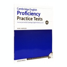Cambridge English Proficiency Practice Tests with Key - Certificare