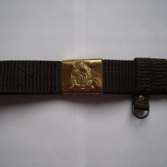 Centura militara RSR, material textil, noua