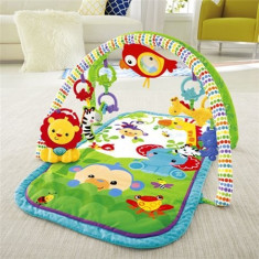 Centru activitati Rainforest Friends 3-in-1 Musical Activity Gym Fisher-Price - Tarc de joaca