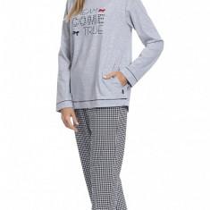 Pijama dama - Cornette - art. 679-101 Dream come true - Pijamale dama, Marime: 36, 40, 42, 44, Culoare: Gri