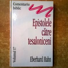 Eberhard Hahn - Epistolele catre tesaloniceni