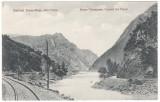 #1865- Romania, Roter Turmpass, Turnu Rosu, c.p. necirc: Defileul, sine c.f., Necirculata, Fotografie
