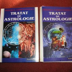 Tratat de astrologie - Armand G.Constantinescu - 2 Volume - Carte astrologie