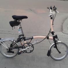 Brompton 6 speed - Bicicleta pliabile, 18 inch, 16 inch, Numar viteze: 6