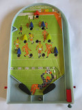 Joc romanesc fotbal flipper din plastic fabricat in anii 80