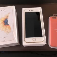IPhone 6S Auriu - Telefon iPhone Apple, 16GB, Neblocat