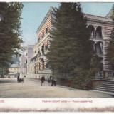 Romania, Herkulesfurdo, Herculane, cp. circulata 1907: Palat Franz Josef, animat