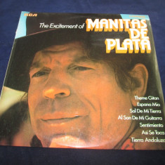 Manitas de Plata - The Excitement Of Manitas De Plata _ vinyl, LP, UK - Muzica Rock rca records, VINIL