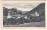 #1864- Ro, Roter Turmpass, Turnu Rosu, cp. necirc. 1917: Manastirea Turnu, Necirculata, Fotografie