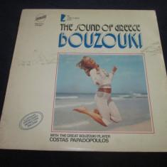 Costas Papadopoulos – Bouzouki _ vinyl(LP) Grecia - Muzica Populara Altele, VINIL