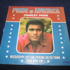 Charley Pride ‎– Pride Of America _ vinyl(LP, album) SUA - Muzica Country rca records, VINIL