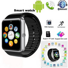 Smartwatch GT08 SIM Ceas inteligent telefon Bluetooth camera| FACTURA | GARANTIE, Alte materiale, watchOS, Apple Watch