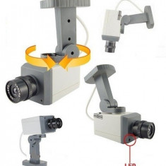 KIT 3 CAMERE FALSE DUMMY CU SENZOR DE MISCARE - Camera falsa, Box/Body