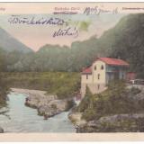Romania, Herkulesfurdo, Herculane, cp. circ. 1906: Stabilimentul electricitatii