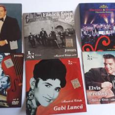 DVD-URI COLECTIE MUZICA , LOT 10 BUCATI ,