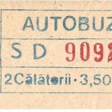 BILET VECHI DE AUTOBUZ ,ITB