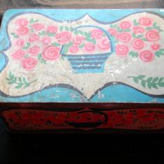 Cutie metalica pentru bomboane fondante - Cutie Reclama