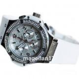 Big Bang Chronograph for Ladies ! White Dial ! Calitate Premium ! Cutie Cadou