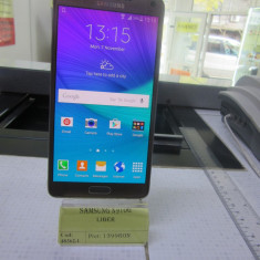 SAMSUNG N910G (LCT) - Telefon mobil Samsung Galaxy Note 4, Auriu, Neblocat