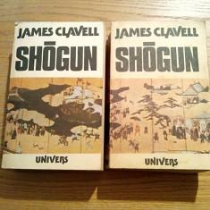 SHOGUN -- James Clavell -- roman, 2 volume, 1988, 683 + 667 p.