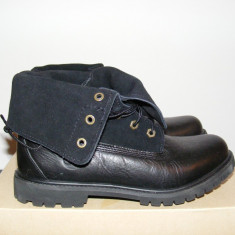 Ghete Timberland Boot EK Authentic Suede RT Black 8703A nr. 39, 5 - Ghete barbati Timberland, Culoare: Negru, Piele naturala