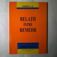 Knerr C. B. - Relatii intre remedii