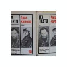 Anna Karenina (vol. I - II)  -  Lev Tolstoi