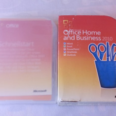Microsoft Office Home and Business 2010 - Solutii business, Windows 7, DVD, Numar licente: 1