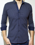 Cumpara ieftin Camasa - camasa buline camasa slim camasa eleganta camasa barbat cod 74, L, XL, XXL, Maneca lunga