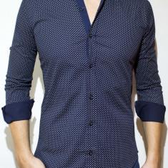 Camasa tip Zara -camasa buline camasa slim camasa eleganta camasa barbat cod 74 - Camasa barbati, Marime: L, XL, XXL, Culoare: Din imagine, Maneca lunga
