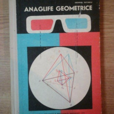 ANAGLIFE GEOMETRICE de GEORGEL ROTARIU, 1972 - Carte Matematica