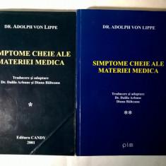 Adolph von Lippe – Simptome cheie ale materiei medica {2 volume}