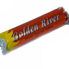 Golden river long burning charcoal - Arome narghilea