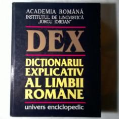 Dex Dictionarul explicativ al limbii romane {1998} - Eseu